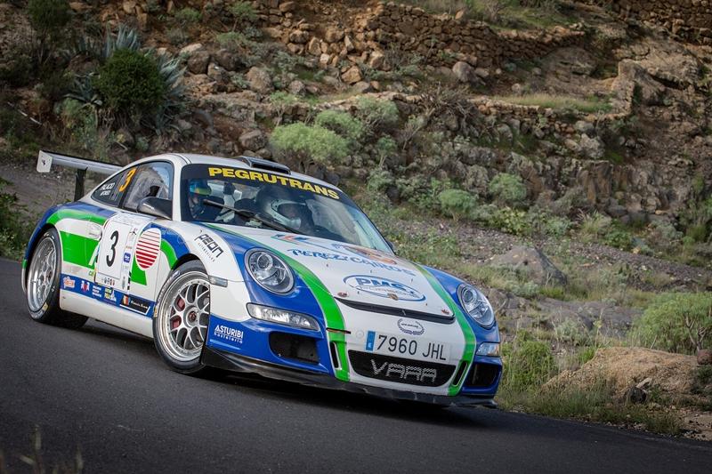 Óscar Palacio (Porsche 991 997 GT3 2008). | ANDRÉS GUTIÉRREZ