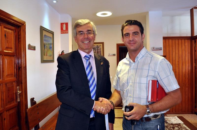 Álvaro Dávila y Carlos Medina formaron gobierno en 2011 y este último no apoyó la moción de censura. / M. P. P.