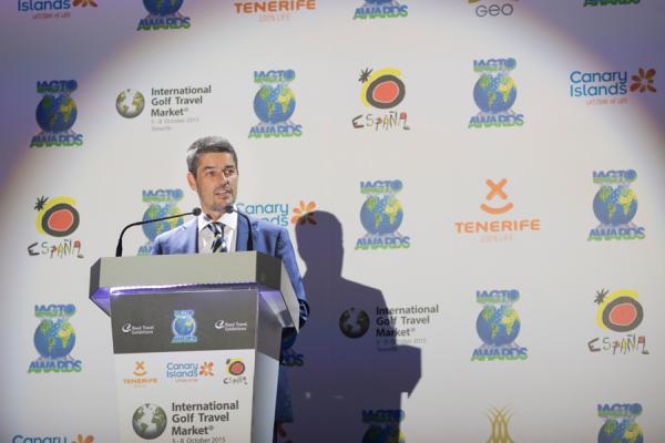 Alberto Bernabé, consejero insular de Turismo. | DA