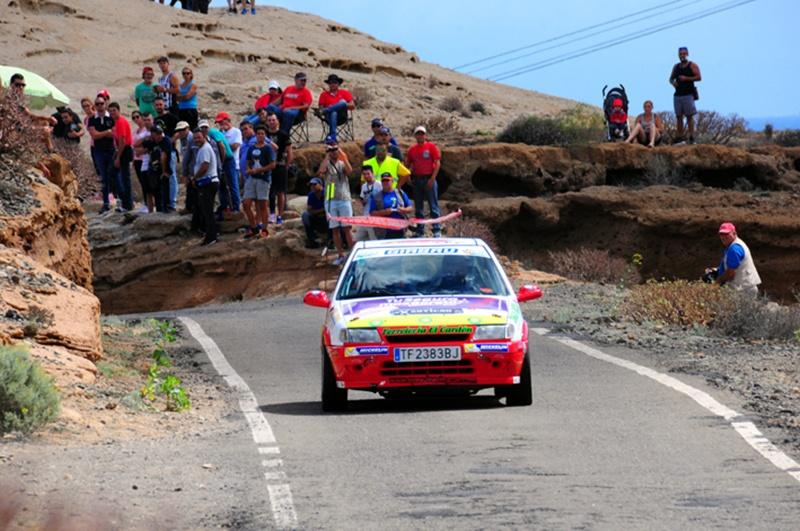Alexis Rodríguez-José Ramón Chávez (Citröen Saxo)  Rally Isla Tenerife 2015