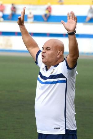 Ayala, pese a las bajas, confía en dar guerra al Espanyol. | SERGIO MÉNDEZ