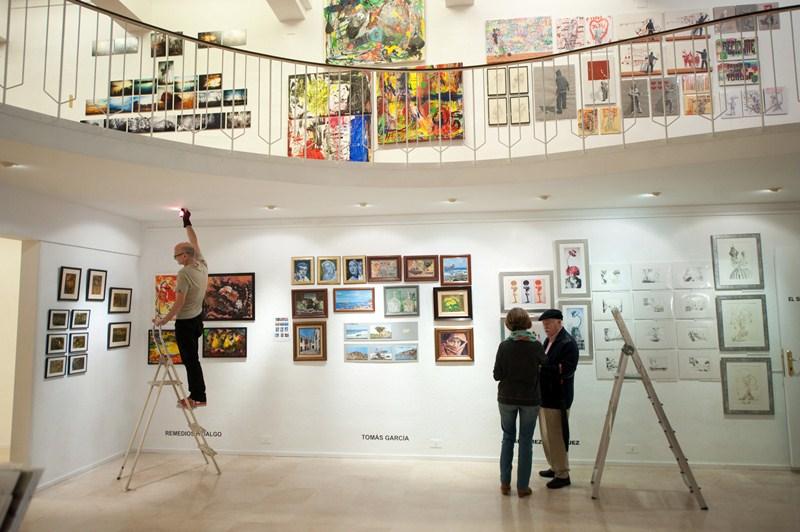 Mercado del Arte del Círculo de Bellas Artes, en la edición del pasado año. / DA
