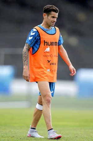 Cristian García regresará al once inicial una vez superada su lesión. | DA