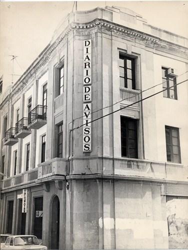 La calle Santa Rosalía fue la primera sede del DIARIO en Santa Cruz de Tenerife. / DA