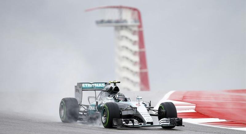 Formula 1 lluvia GP Austin