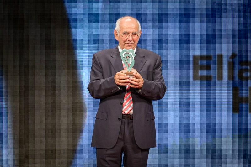 Elías Bacallado Hernández, Presidente de honor de DIARIO DE AVISOS. / A.G.