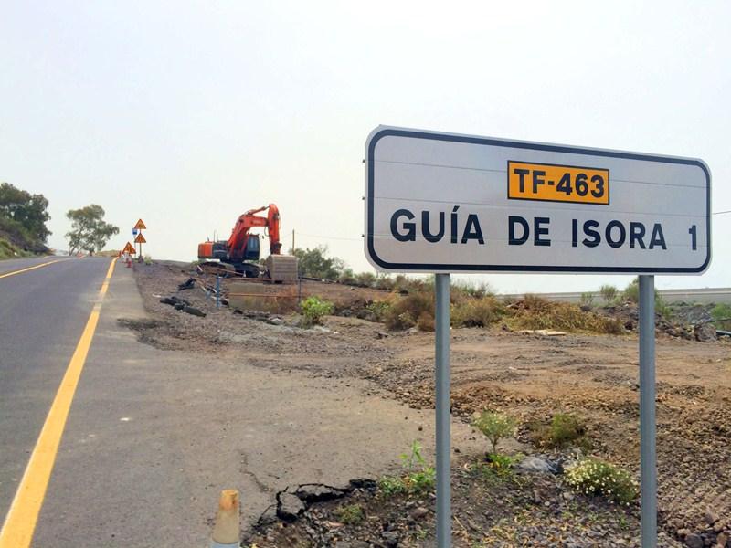 La TF-463 une al llamado tramo del anillo insular con Guía. / DA