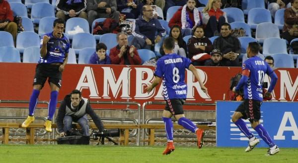 Diego Ifrán anotó dos doles la pasada temporada en Zaragoza| DA