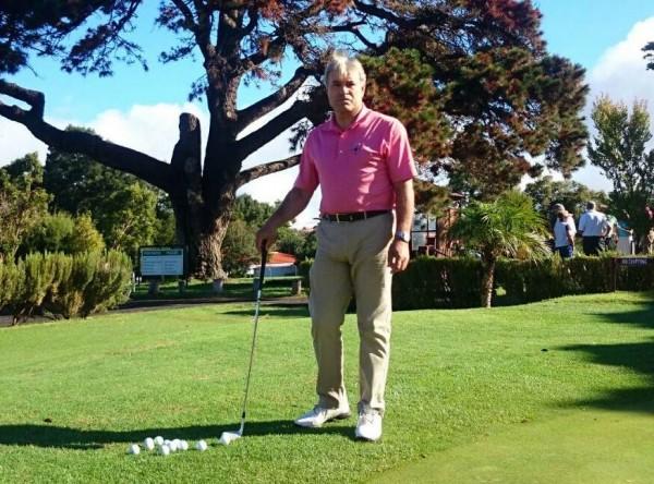 José Miguel Hernández Díaz, en el Real Club de Golf de Tenerife. | DA