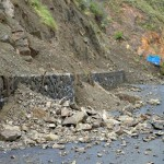 Desprendimiento de tierras en Hermigua. | DA