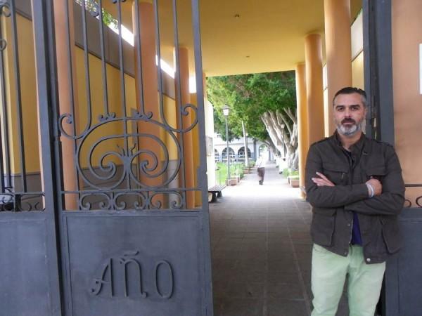 Luis García, concejal de Servicios Funerarios y Urbanismo. | DA