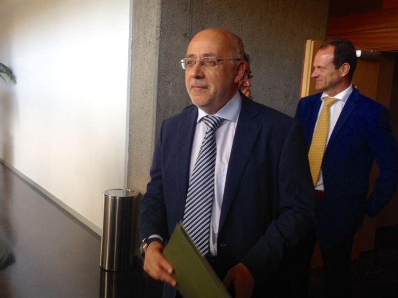 Presidente del Cabildo de Gran Canaria, Antonio Morales. / EP