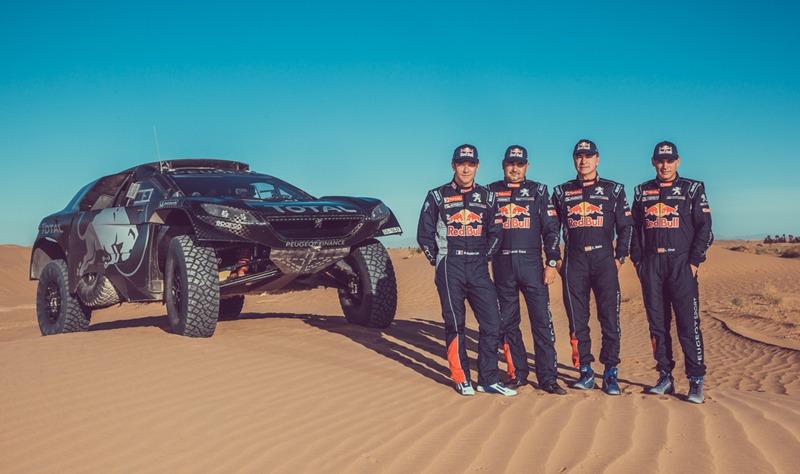 Peugeot Total Dakar
