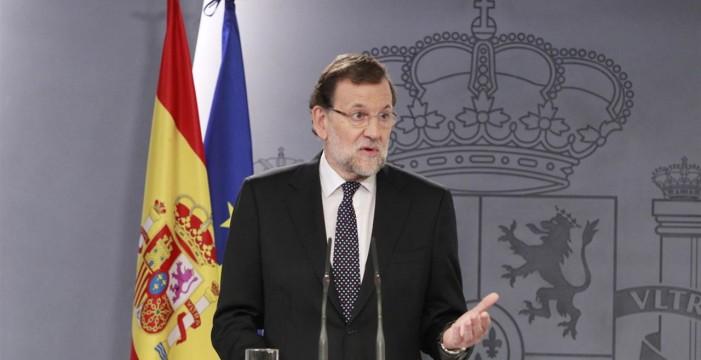 """Rajoy: """"No soy rencoroso. Es posible restañar las heridas"""""""
