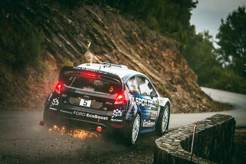 El galés Elfy Evans lidera el Rally de Córcega. / wrc