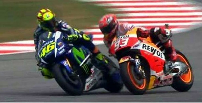 Rossi y Marquez