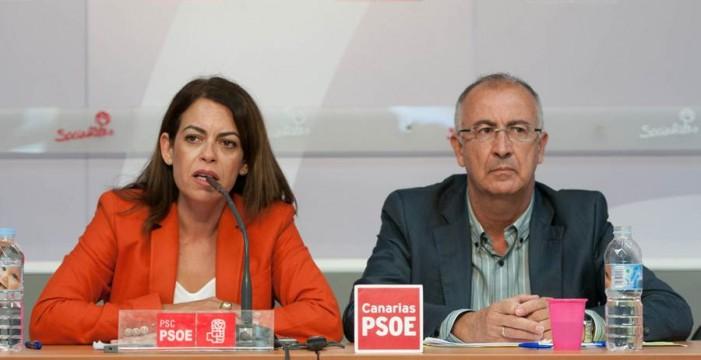 """El PSOE tacha de """"pantomima"""" las reuniones sobre el REF económico"""