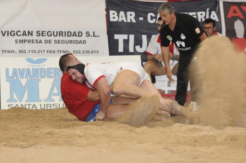 Union Tijarafe Guanche San Isidro Lucha Canaria Luis de La Cruz