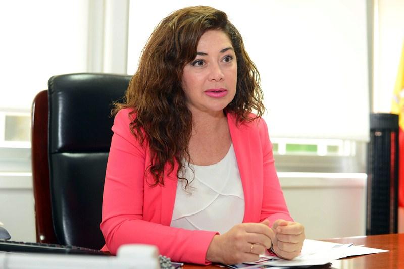 Beatriz Barrera, presidenta del consorcio de la ZEC. / SERGIO MÉNDEZ