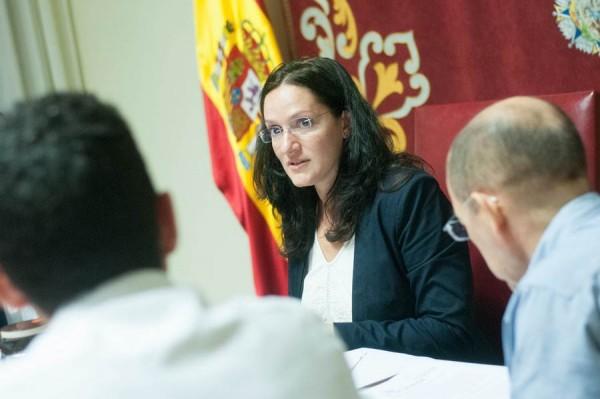 Zaida González presidió la primera Comisión del mandato. | F. P.