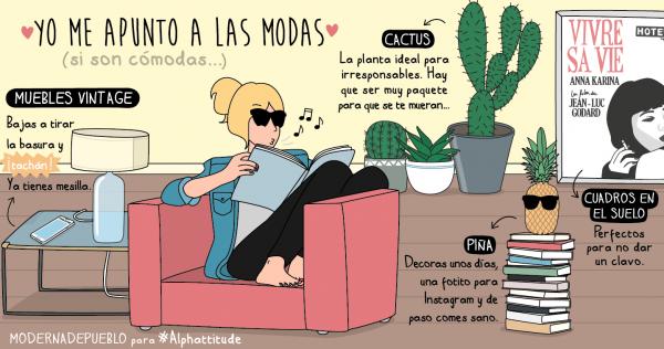 Una de las viñetas de Moderna de pueblo. | MODERNA DE PUEBLO