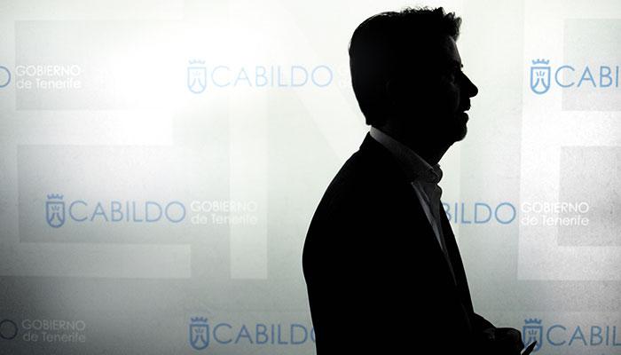 Carlos Alonso, presidente del Cabildo de Tenerife. / FOTOS: ANDRÉS GUTIÉRREZ