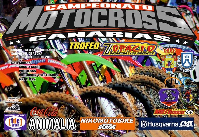 cartel Motocross san miguel