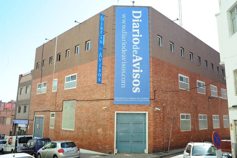 En 1983 la sede de DIARIO DE AVISOS  se trasladó a la calle Salamanca. / DA