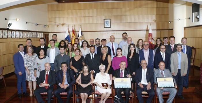 Entrega de los afables del CIT Candelaria- Caletillas