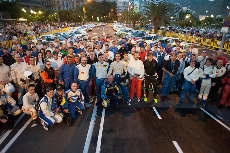 rally Tenerife pilotos