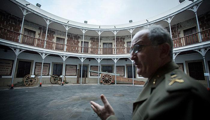 250 es el número de visitantes semanales que tiene el museo y que en actos como los de Plenilunio llegan a alcanzar la cifra de 2.500. / ANDRÉS GUTIÉRREZ