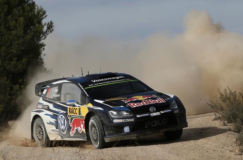 Sébastien Ogier - Julien Ingrassia (VW Polo R WRC)  RallyRACC Catalunya