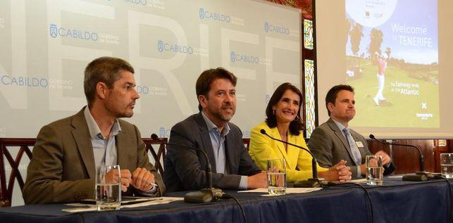 La presentación de esta actividad tuvo lugar ayer en el Cabildo. / DA