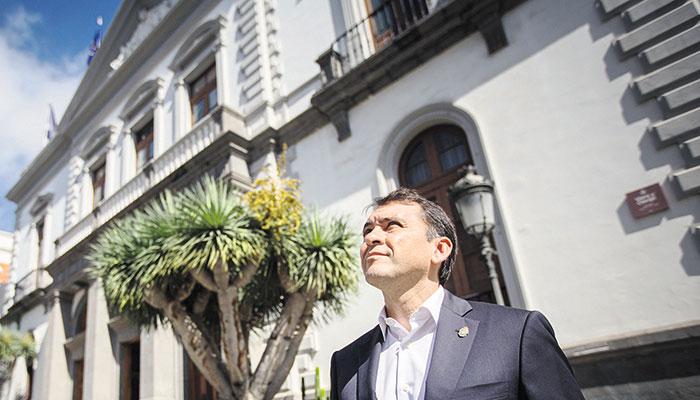 El 3 de abril de 1899 comenzaron las obras del edificio, según diseño del arquitecto Antonio Pintor. / ANDRÉS GUTIÉRREZ