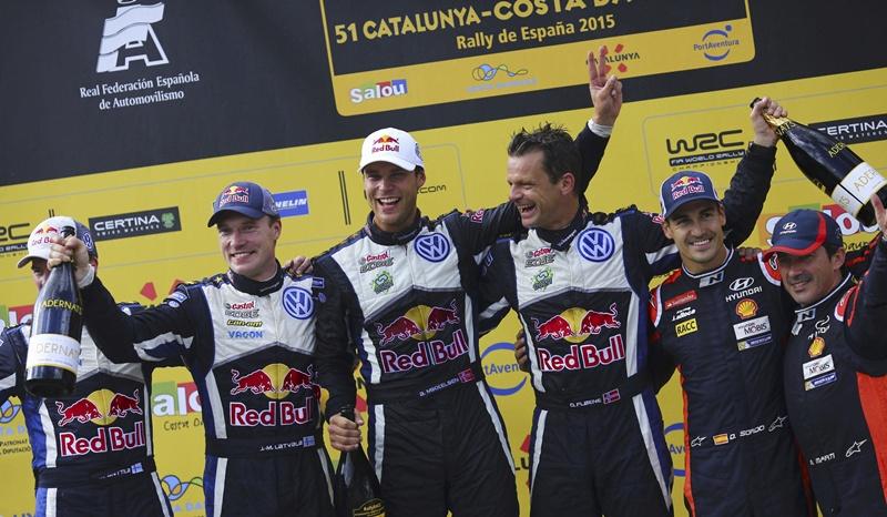 RallyRACC Catalunya podio
