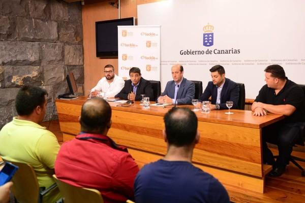 Un instante de la presentación de la competición regional. | SERGIO MÉNDEZ