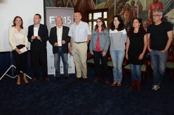 Acto de presentación de la decimotercera edición de Fotonoviembre, ayer en el Cabildo de Tenerife. | DA
