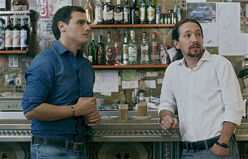 Rivera y Pablo Iglesias. / LA SEXTA