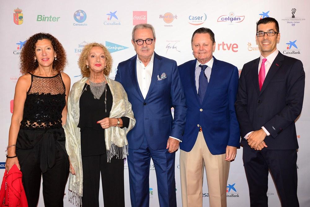 Photocall Premios Taburiente. / S.M.