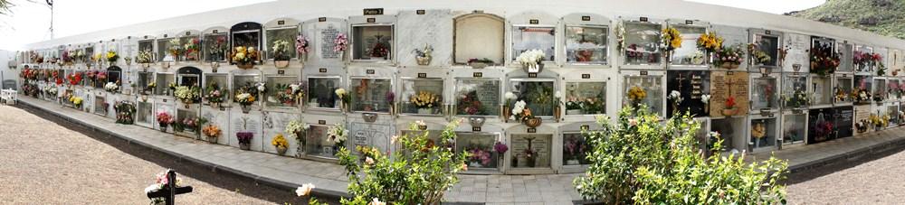 Cementerio de Igueste, uno de los tres con los que cuenta Candelaria. / DA
