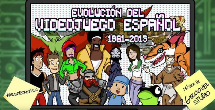 La evolución de los videojuegos españoles desde 1981