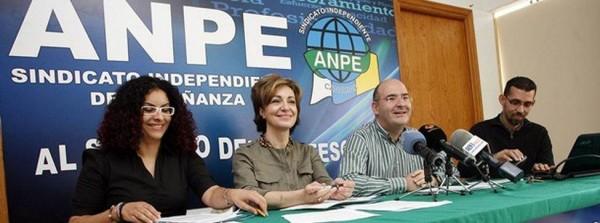 Los responsables de ANPE Canarias presentaron ayer el informe en Las Palmas de Gran Canaria. | DA