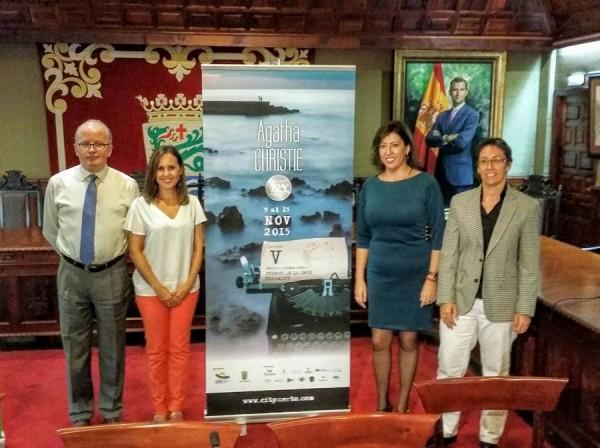 Ayuntamiento y CIT presentaron ayer el programa de actos. | DA