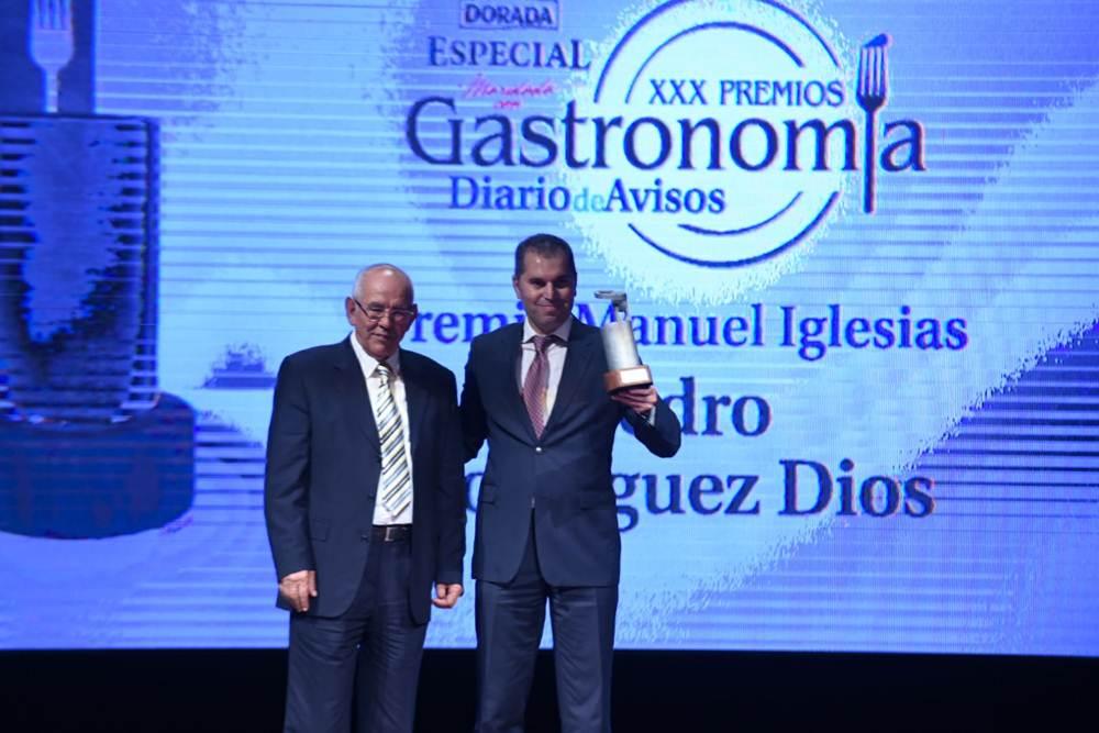 El Premio Manuel Iglesias es para Pedro Rodríguez