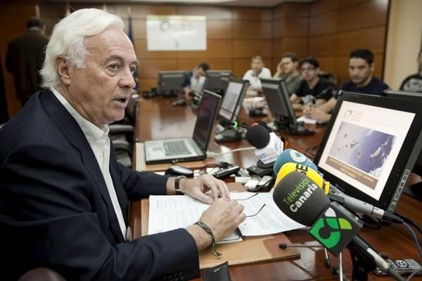 El presidente del CES, Fernando Redondo. | DA