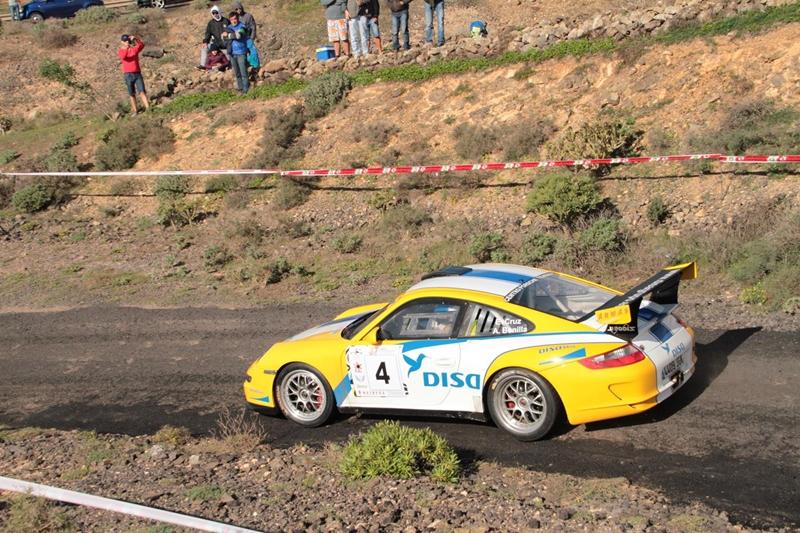 Enrique Cruz Rally Isla de Lanzarote SERGIO BETANCORT 1