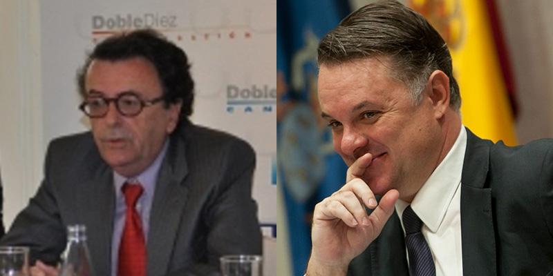 Enrique Hernandis y Santiago Negrín. /DA
