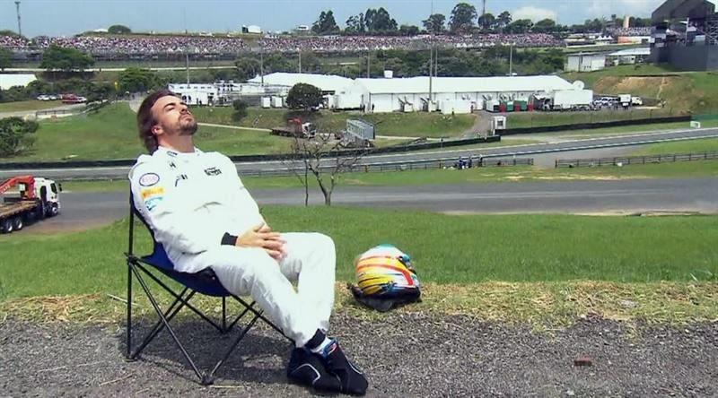 Fernando Alonso brasil