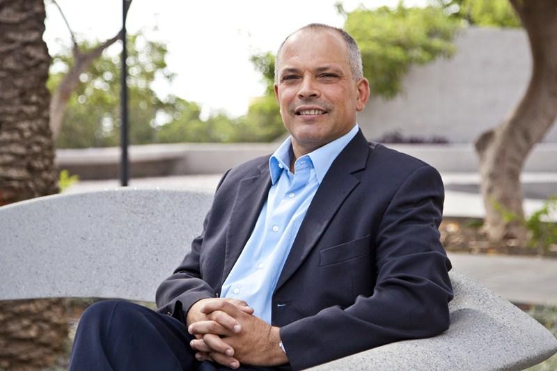 Javier Mederos, concejal de Hacienda de Güímar y portavoz de Coalición Canaria. / DA