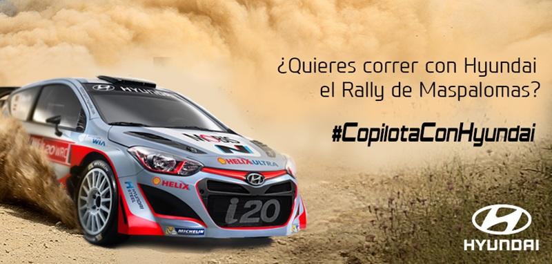 Hyundai Promocion Rally Maspalomas